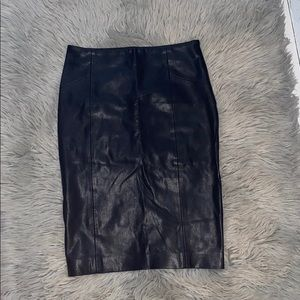 Zara Faux Leather Pencil Skirt ✏️
